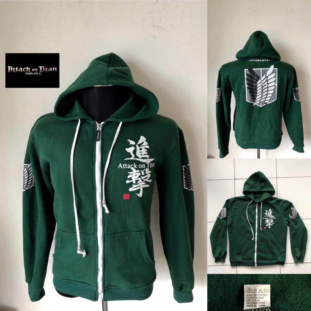 1f961eef Attack on Titan Hoodie, Men's Fashion, Men's Clothes, Others on ...