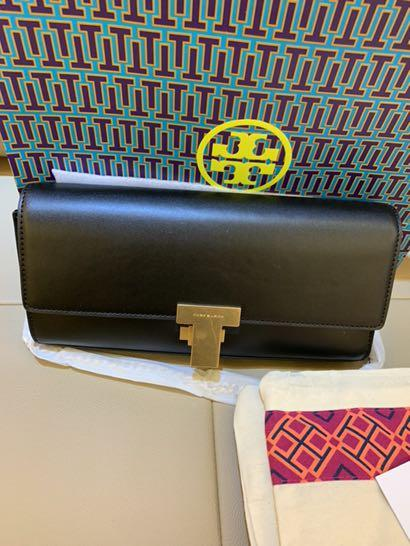 Authentic Tory Burch Ready Stock women mini Juliette clutch totes wristlet sling bag