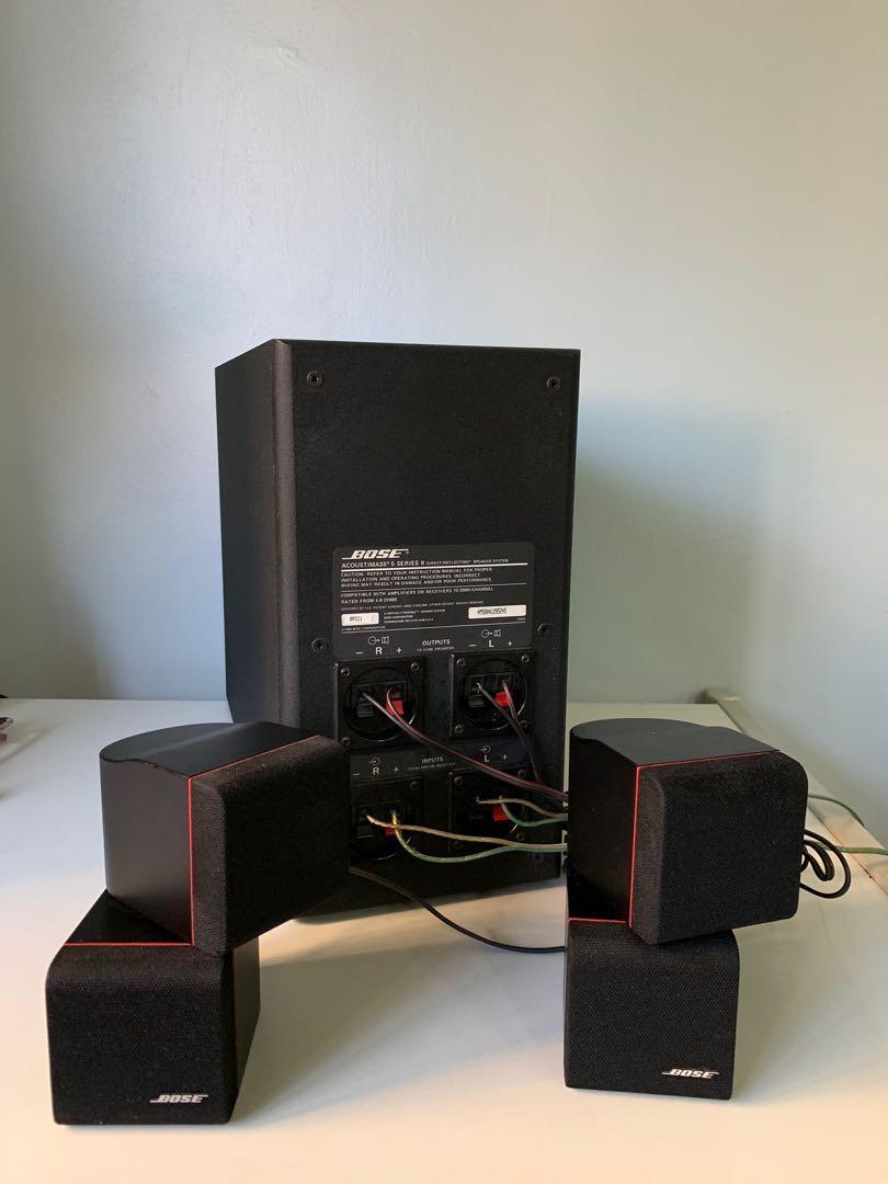 Bose Acoustimass 5 Series II Speaker System, Electronics