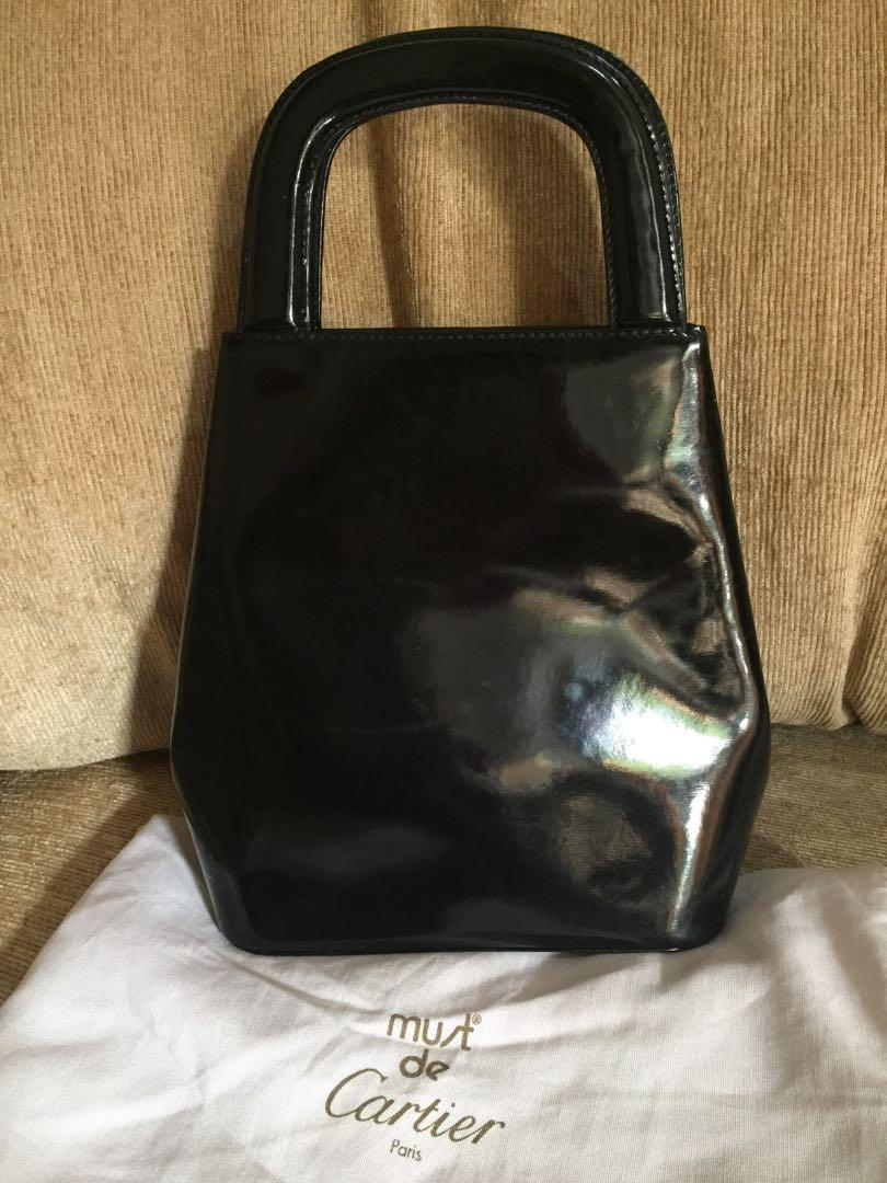 Cartier Women Party Bag Handbag Tas Wanita Pesta Clutch Original Authentic Preloved Bekas Second Seken Murah Sale Diskon Discount Promo Asli