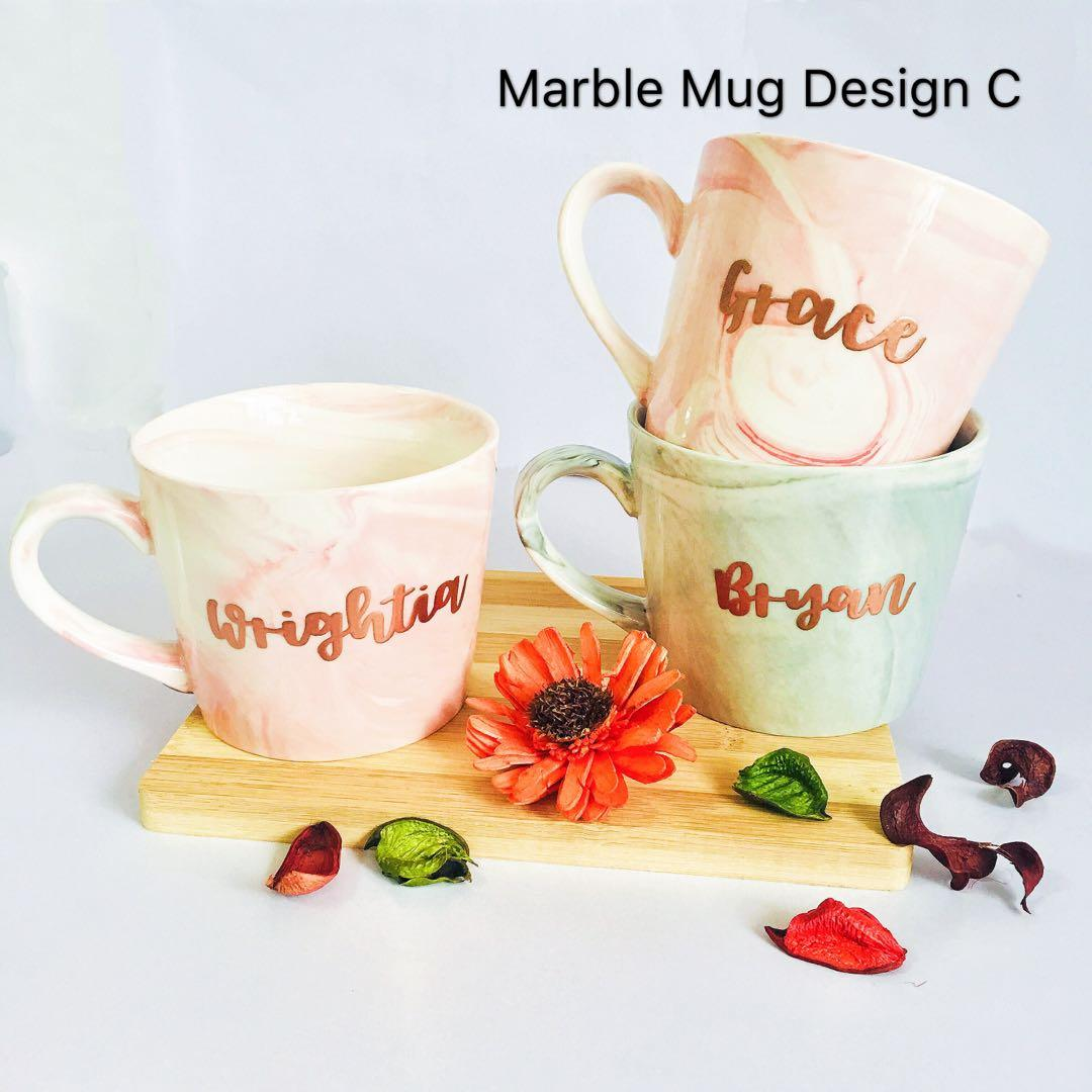 Customise marble mugs Mug cup cups customised gift customisable personalise personalised Teacher's Day teacher wife gifts present presents bulk cheap office corporate staff graduation colleague Friend colleagues coffee couple Birthday Christmas farewell