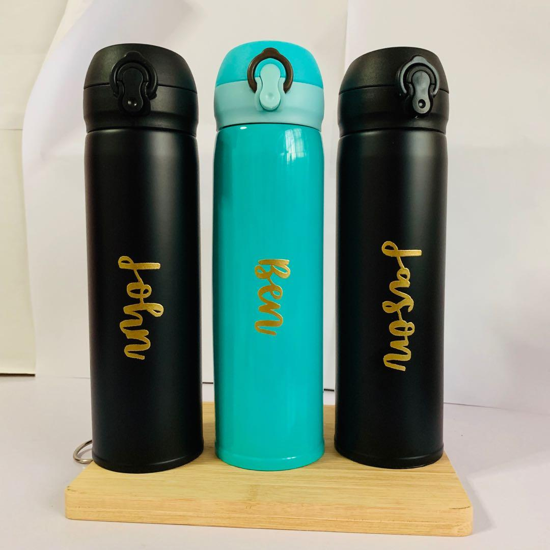 Customised bottle tumbler water waterbottle tumblers tumblr thermal flask customise gift gifts present presents farewell Teacher's Day teacher teachers' personalised personalise customisable Cheap bulk corporate office birthday Friend colleague colleagues