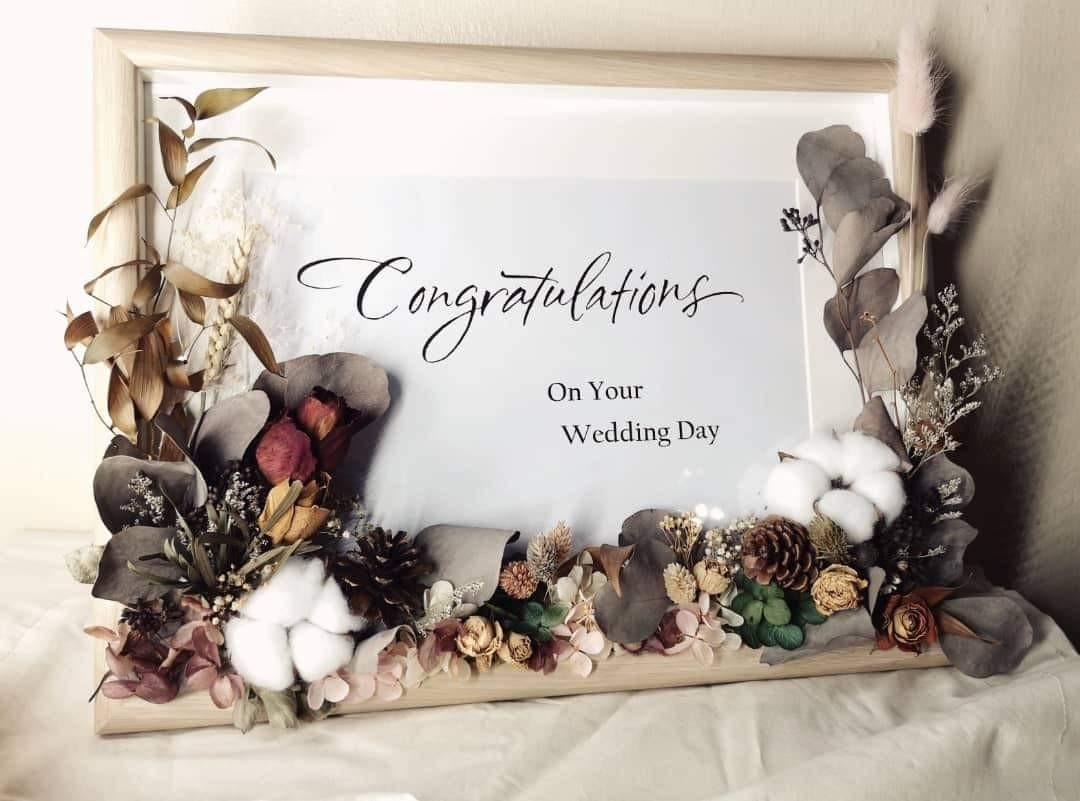 Dried Flower Frame B Design Craft Handmade Craft On Carousell