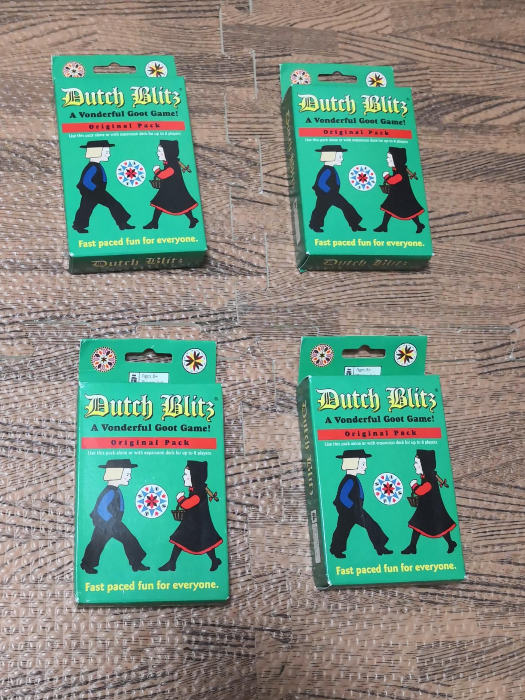 Dutch Blitz Card Game Original Pack