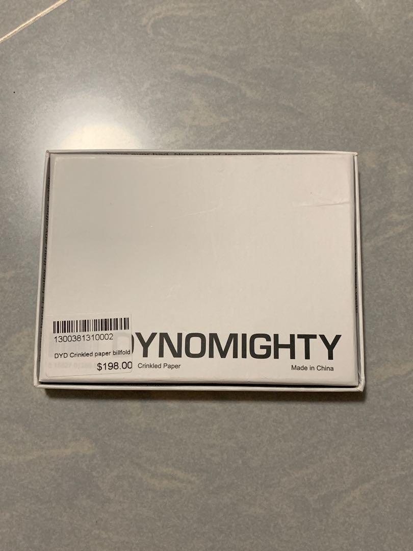 Dynomighty tyvek billfold paper wallet 紙銀包