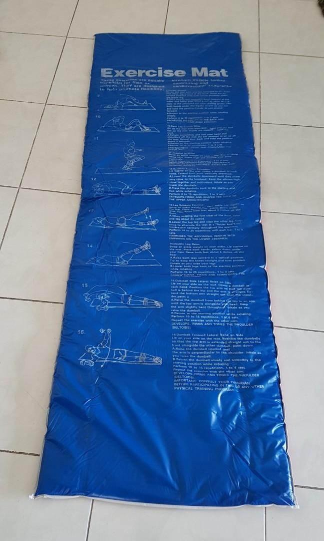 Exercise Floor Mat