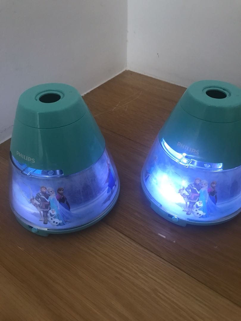 Frozen Battery Operated Night Lamp For