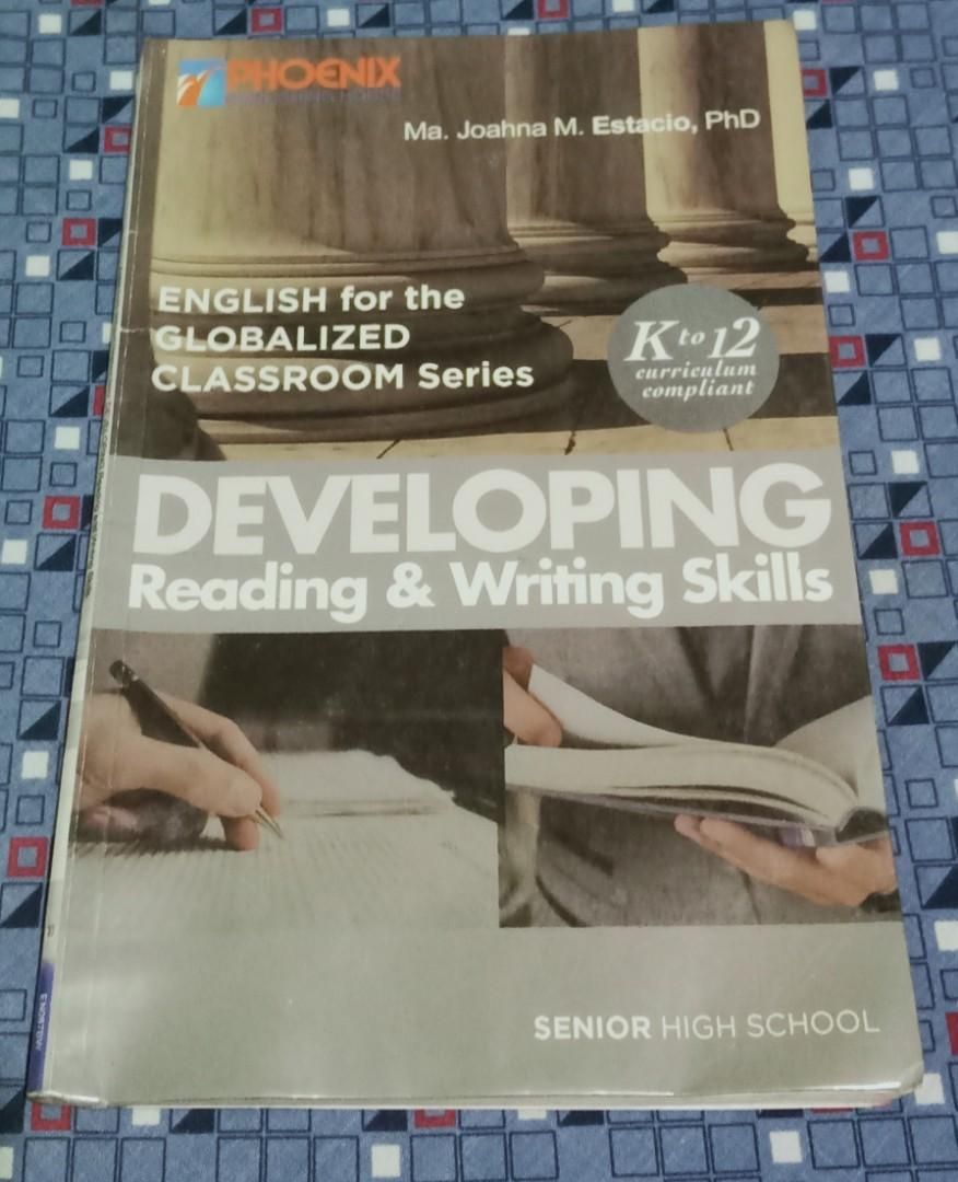 GRADE 11 BOOKS (SPEAC, DEVELOPING READING & WRITING, STATISTICS & PROBABILITY)