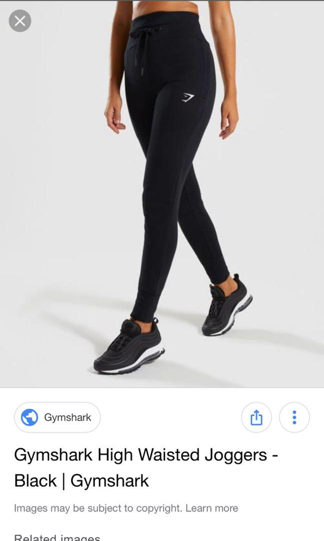 Gymshark High waisted Joggers