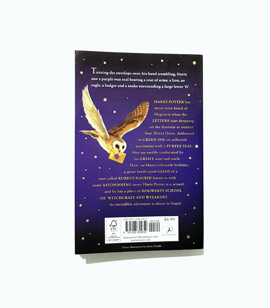Harry Potter and the Philosopher's stone (Bloomsbury version) by J.K. Rowling
