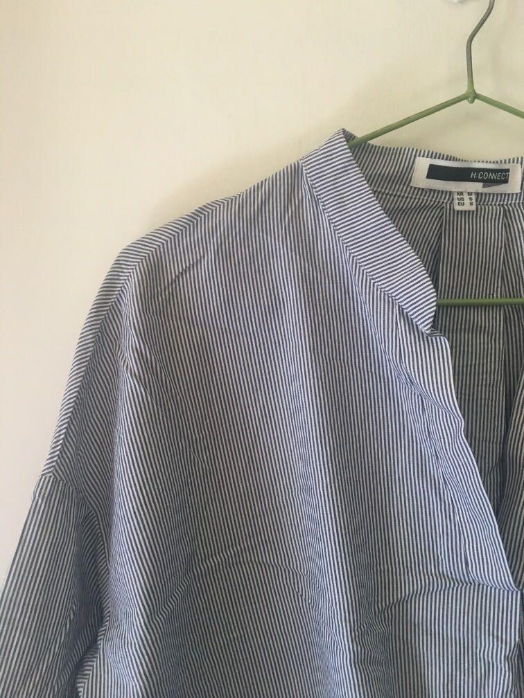 🍓H:connect細條紋襯衫