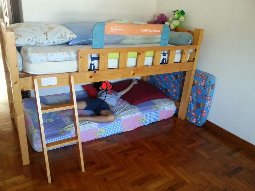 HIGHLY STURDY LOFT BED FROM JAPAN (NOT IBENMA NOT FLEXA)