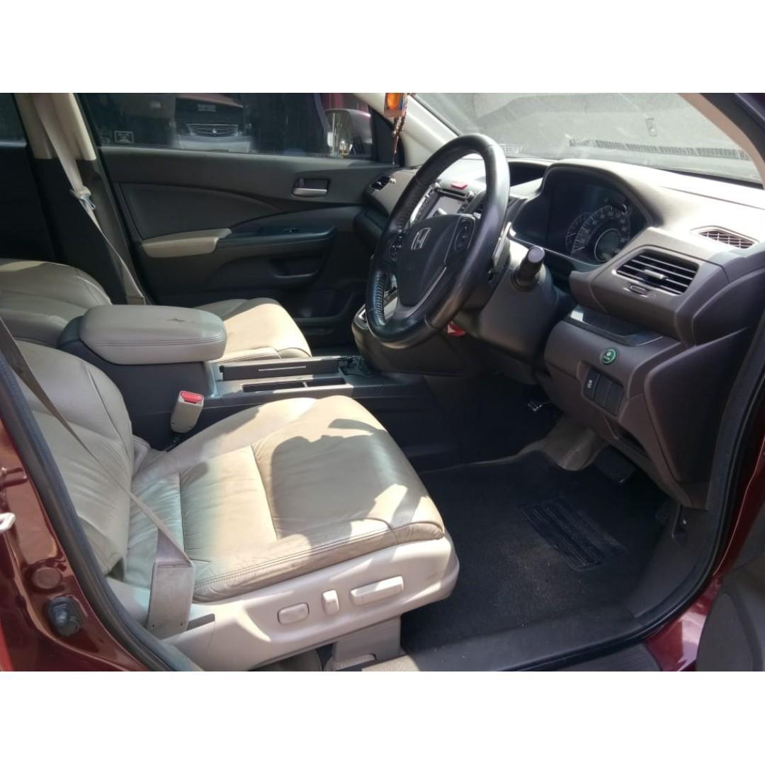 Honda CRV 2.400 CC Automatic 2013 Merah Maron Dp 44,9 Jt No Polisi Ganjil