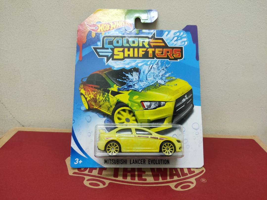 Hotwheels Mitsubishi Lancer Colour Shifter
