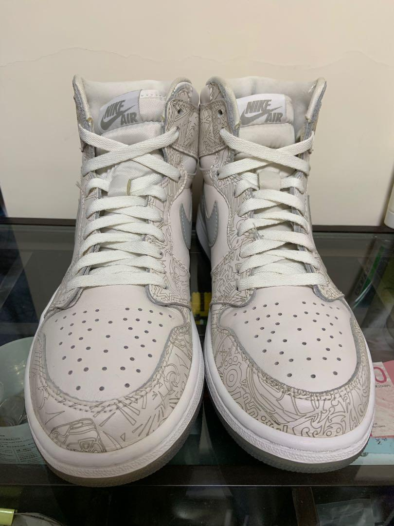 Jordan 1 Laser us10 like new