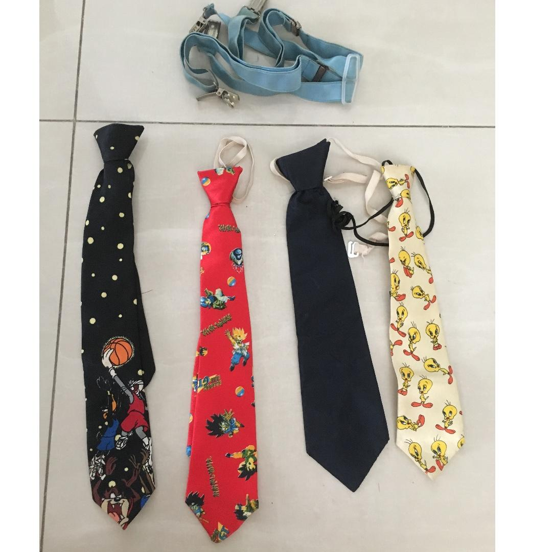 Kids tie for blessing