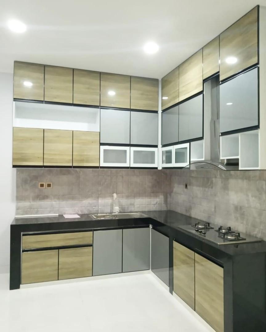 Kitchenset Aluminium Model Baru Home Furniture On Carousell