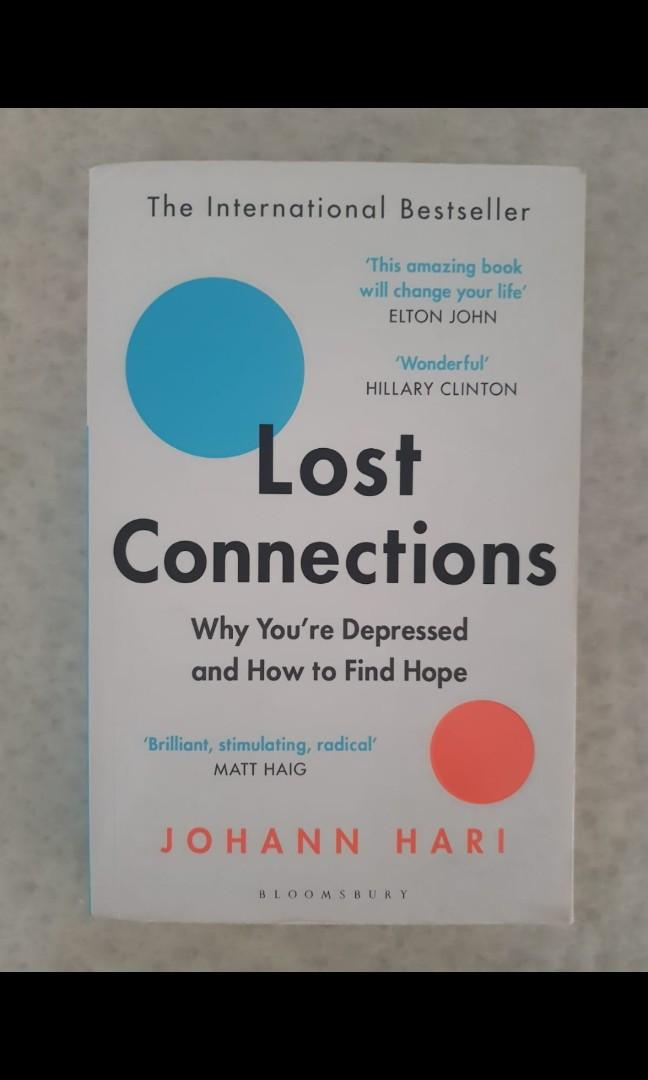 Lost Connections by Johann Hari, Books & Stationery, Non