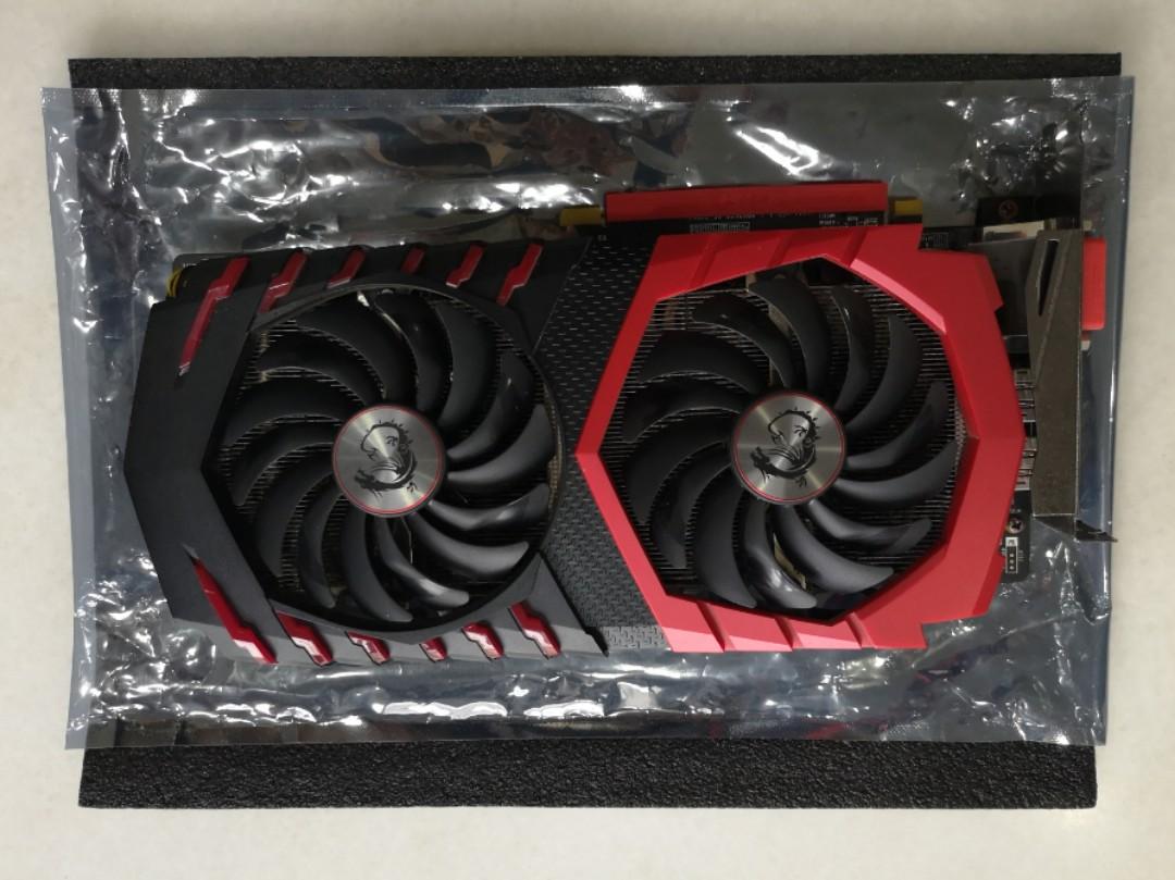 MSI Radeon RX 570 Gaming X 4gb (GPU)