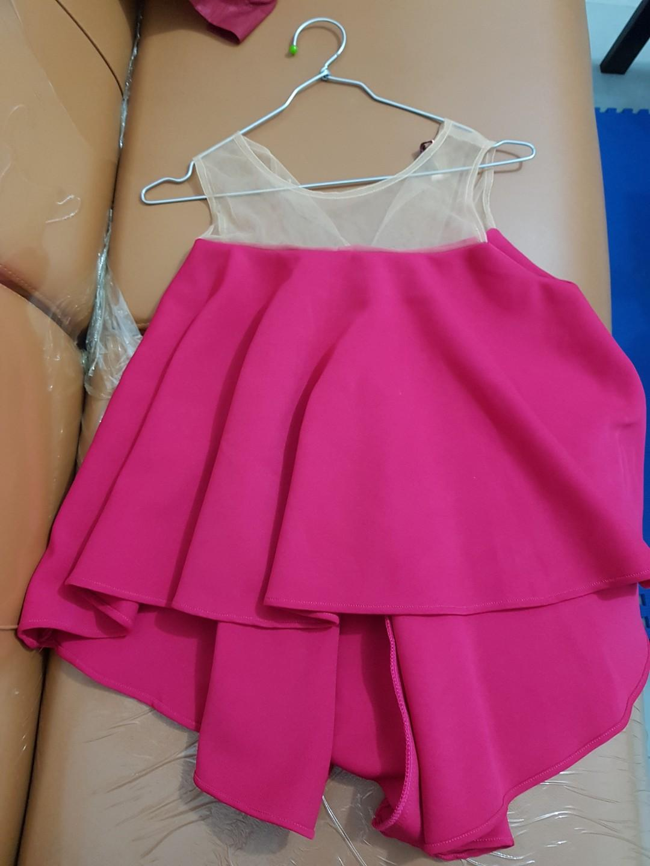 Pink Fanta scuba top