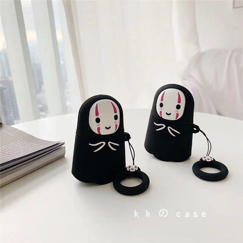 [PO] Spirited Away No Face AirPods Casing