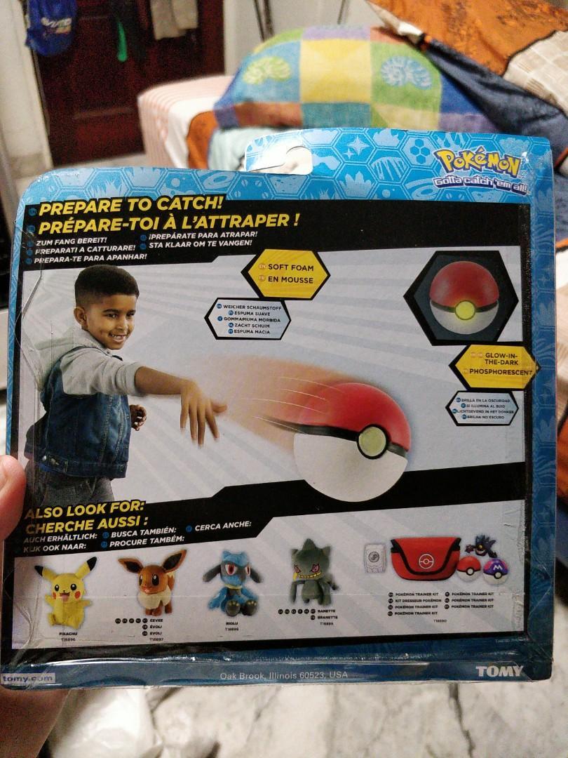 Pokemon Pokeball plush soft toy