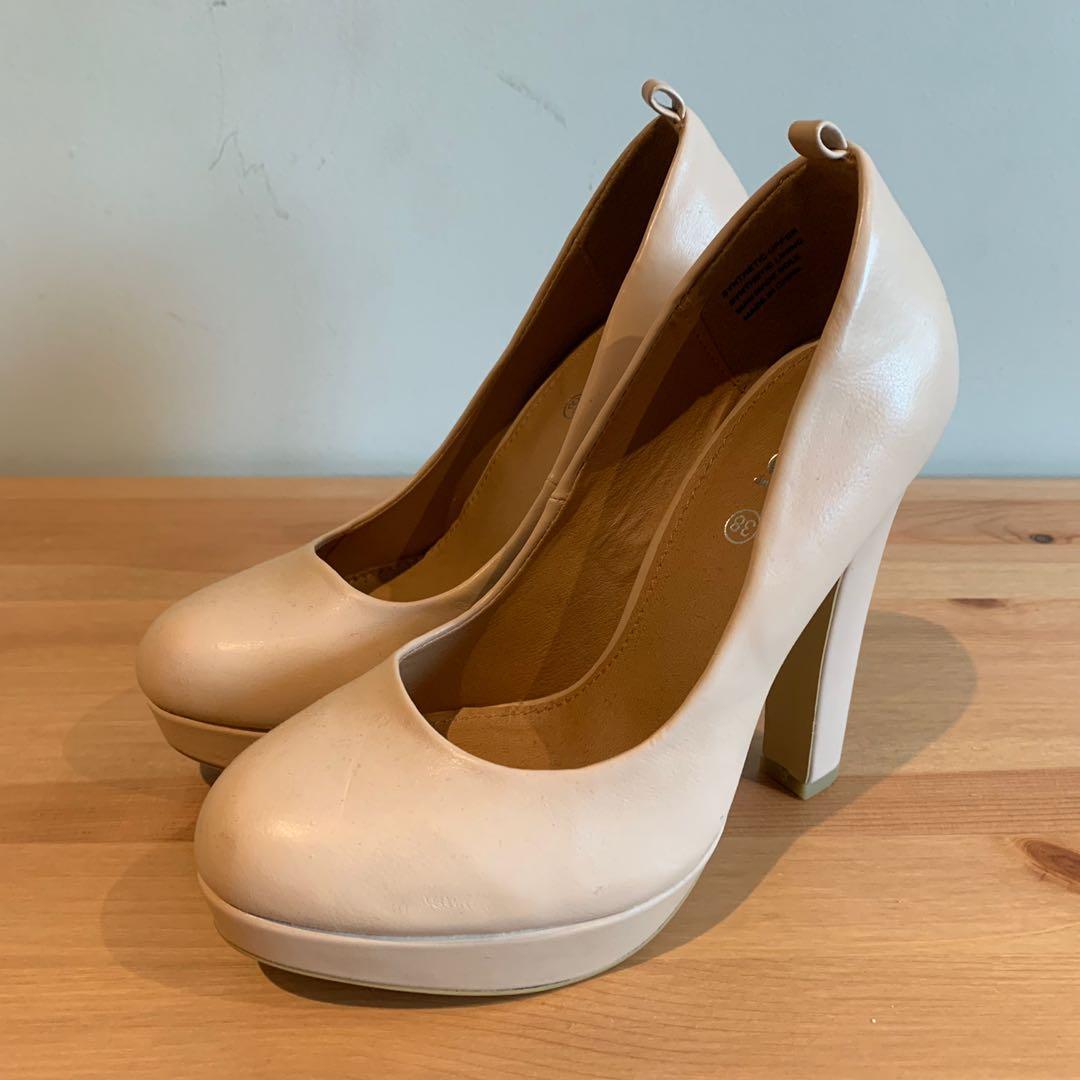 Rubi Nude Pumps/Heels
