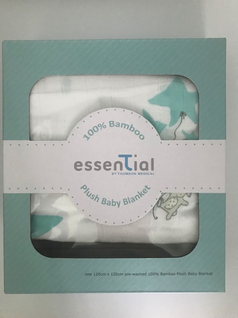 Sale Brand New Big Essential 4 Layers Muslin Baby Blanket