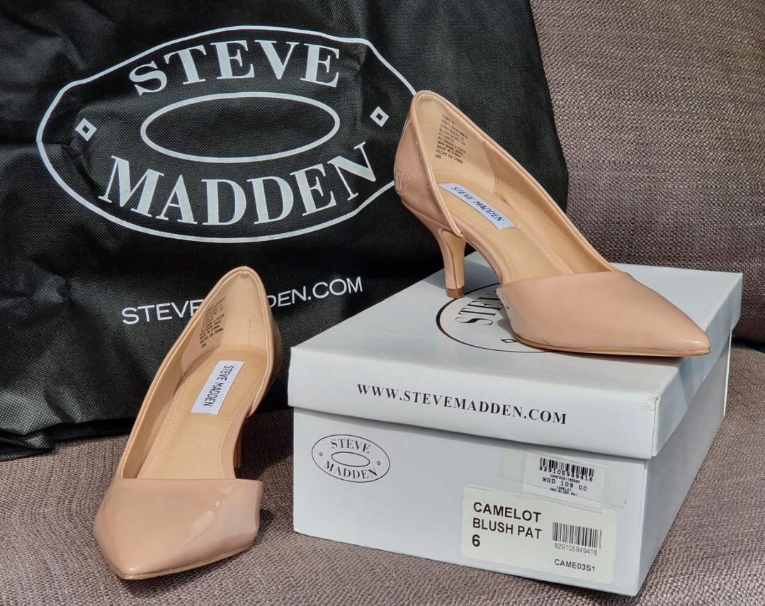 Steve Madden - CAMELOT Blush Patent