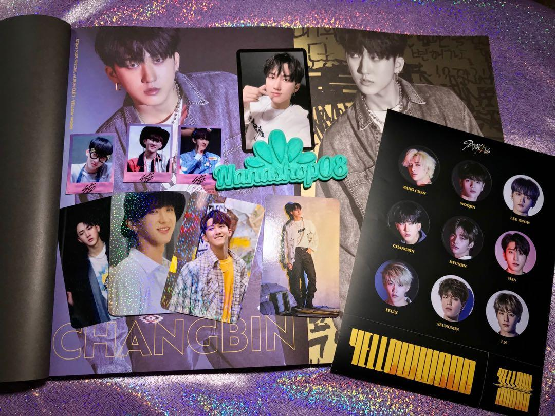 Stray Kids Cle2 Yellow Wood Limited Page Changbin Set