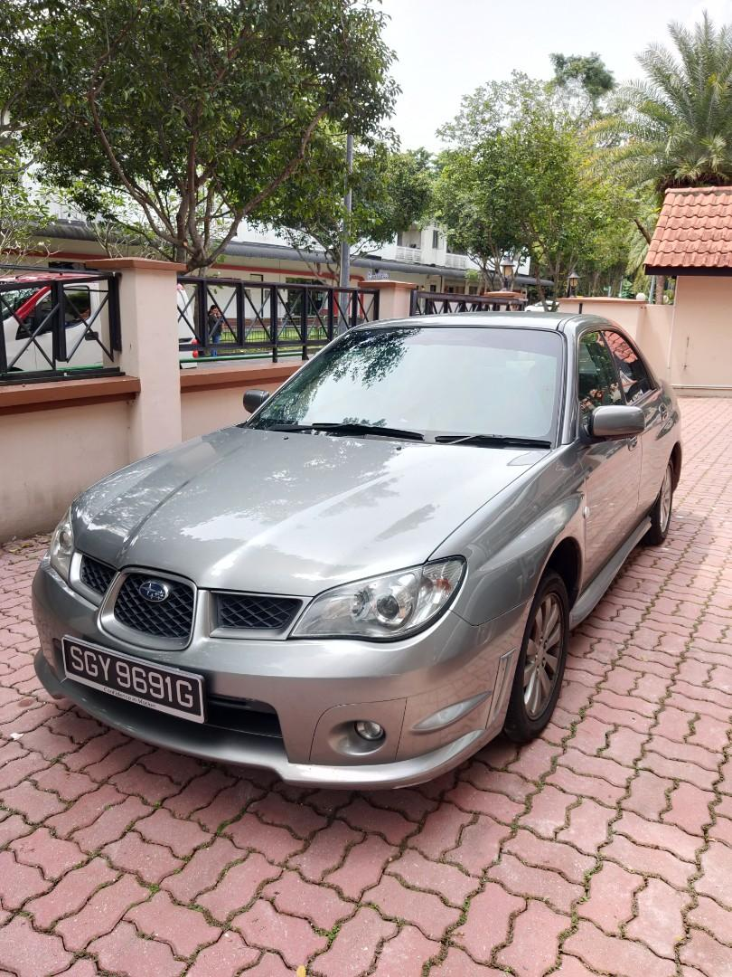 Subaru Impreza (Sedan) R 4-Dr Manual