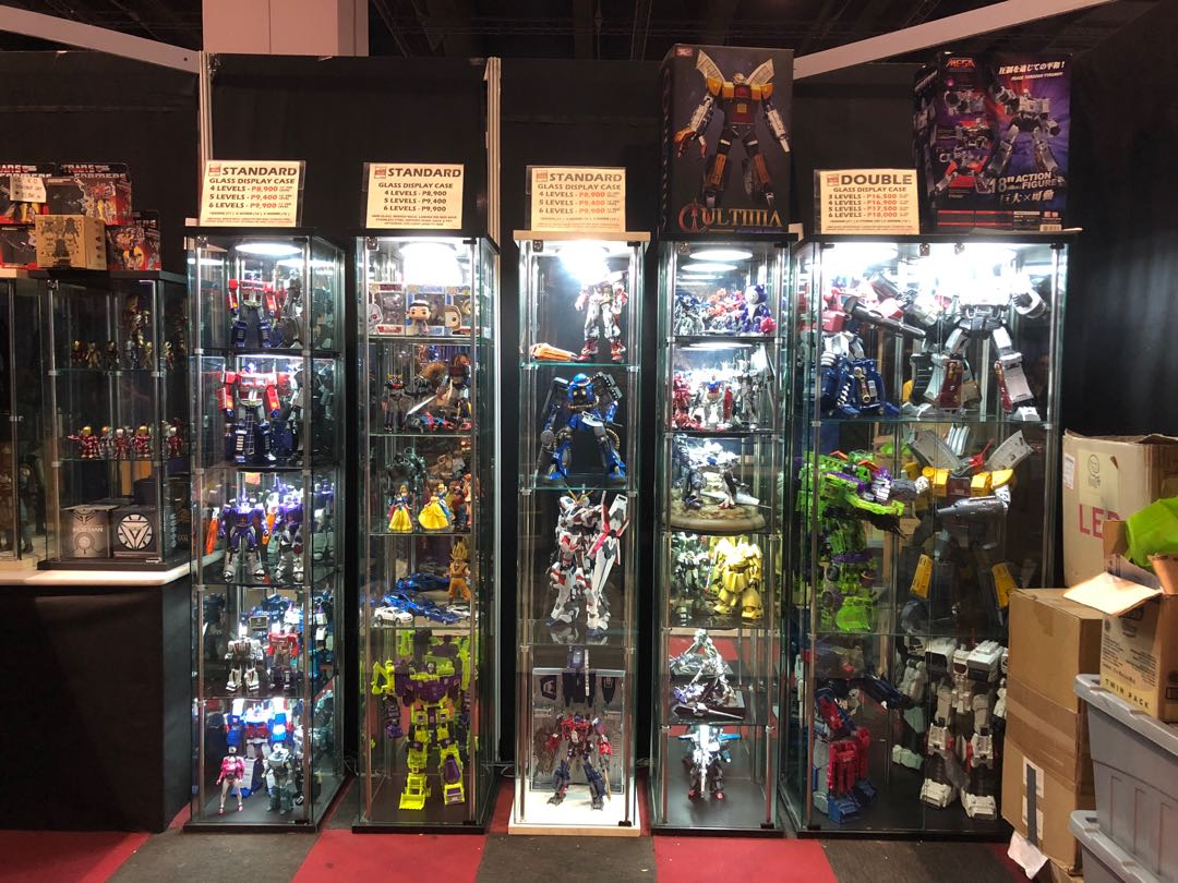 Picture of: Thisplay Glass Cabinets For Toys And Collectibles Home Furniture Furniture Fixtures Others On Carousell