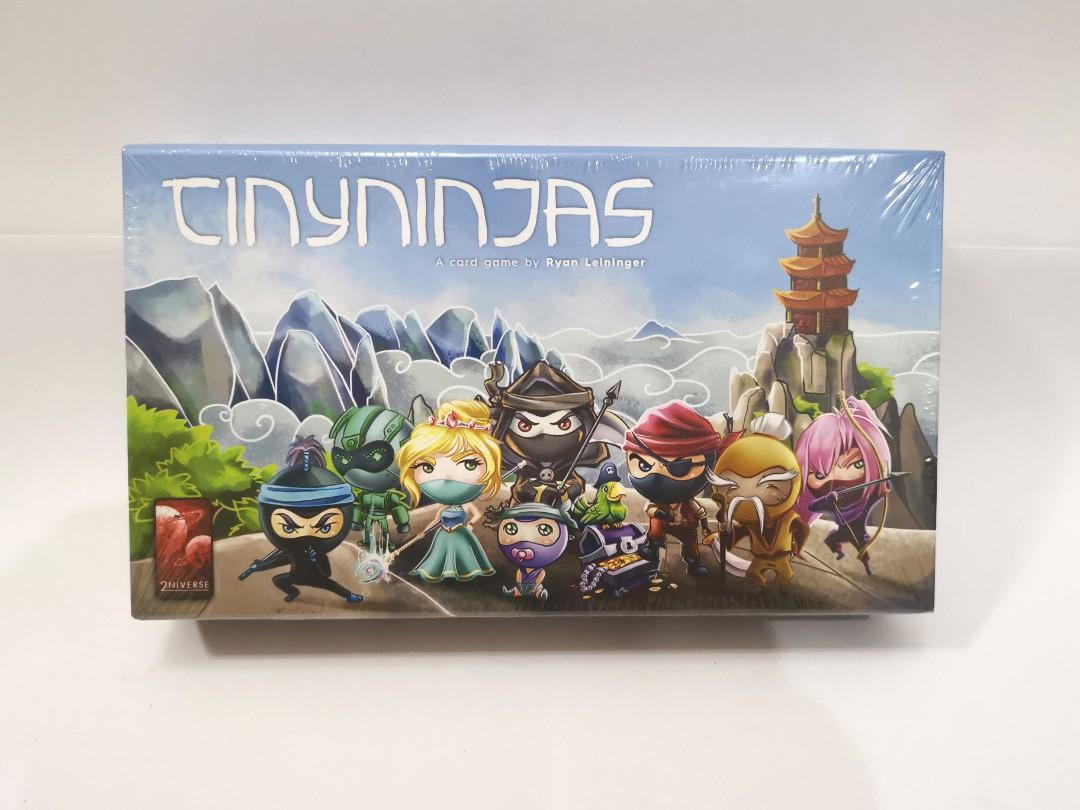 Tiny Ninjas (KS) Travel Portable Game - BNIB