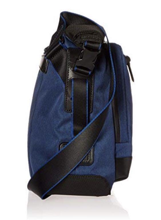 Tumi Tahoe Marino Roll Top Messenger Crossbody Bag, Blue