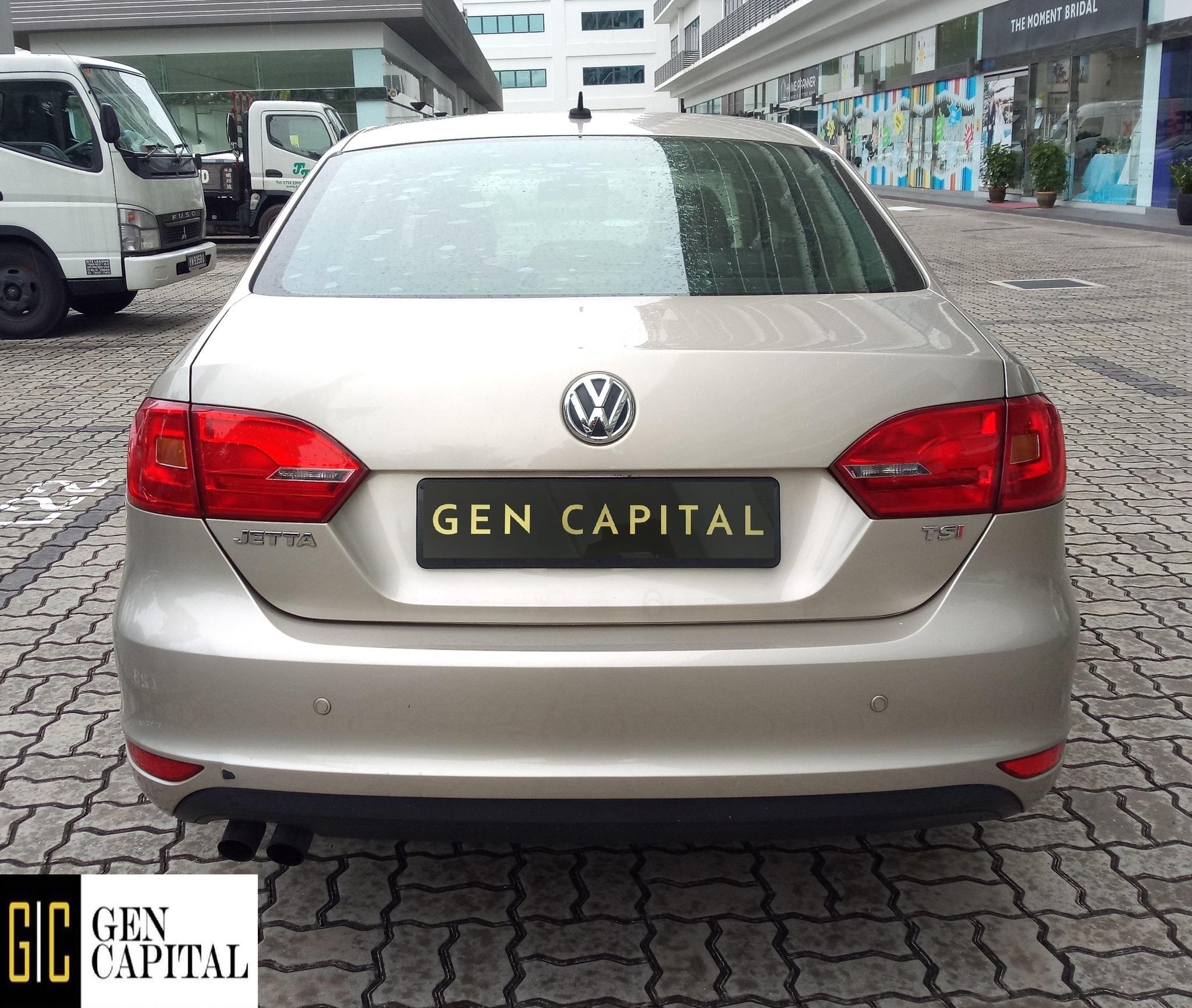 Volkswagen Jetta 1.4A Grab Gojek Ryde Tada & Non PHV Car Rental