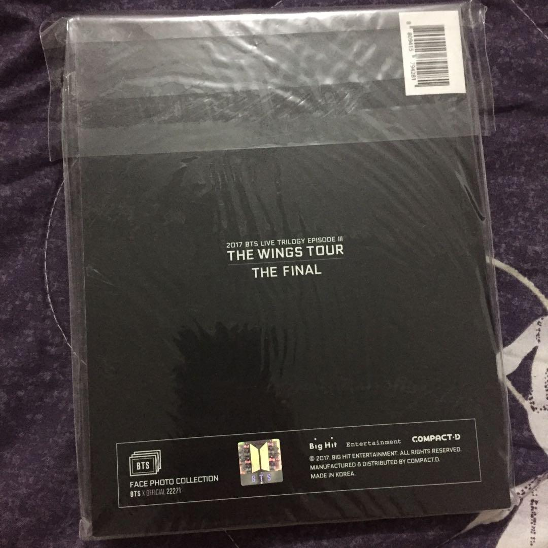 [WTS] BTS The Wings Tour The Final Face Photo Collection