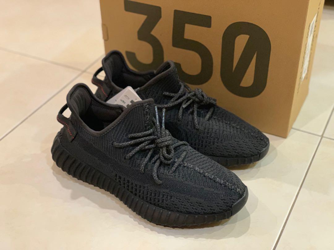 Yeezy Boost 350 V2 Black Non Reflective - NikeSaleOnline