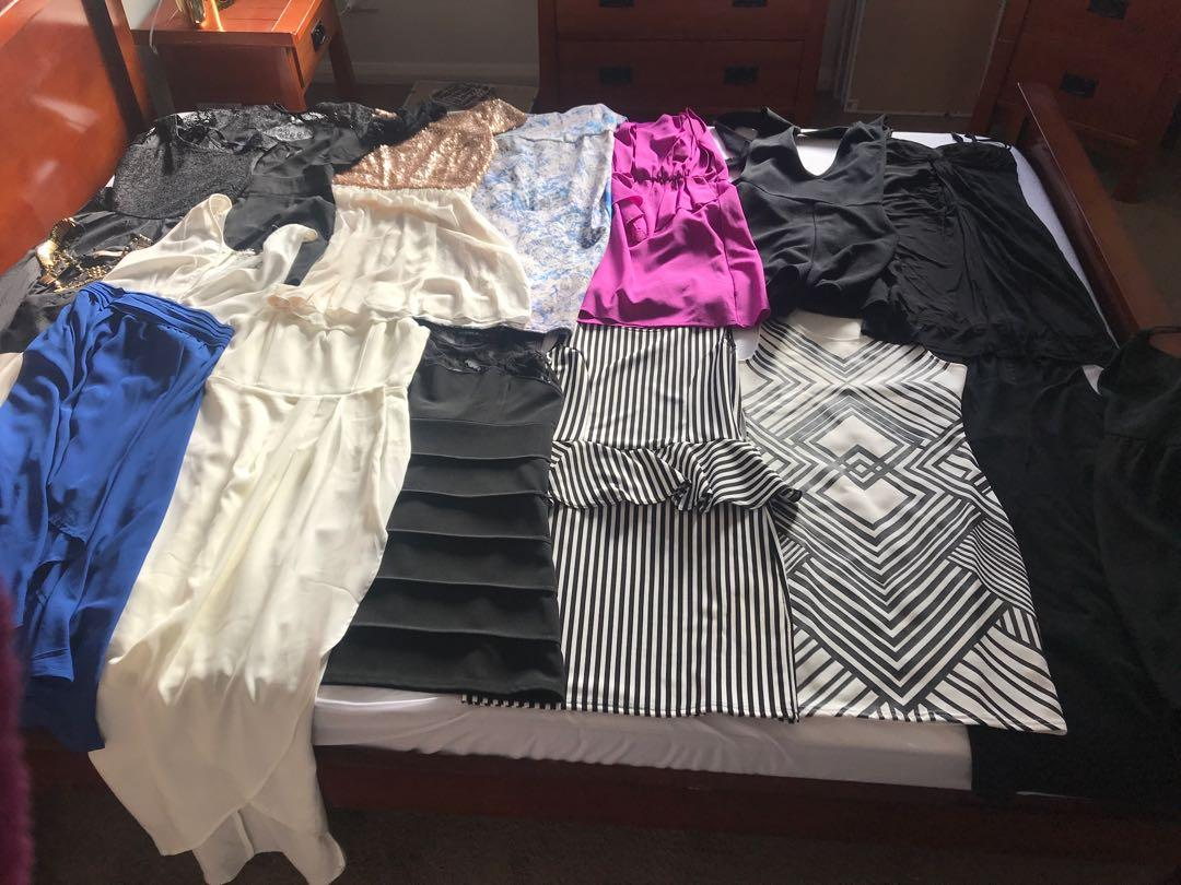 X15 going out dresses/playsuit all for $15 total