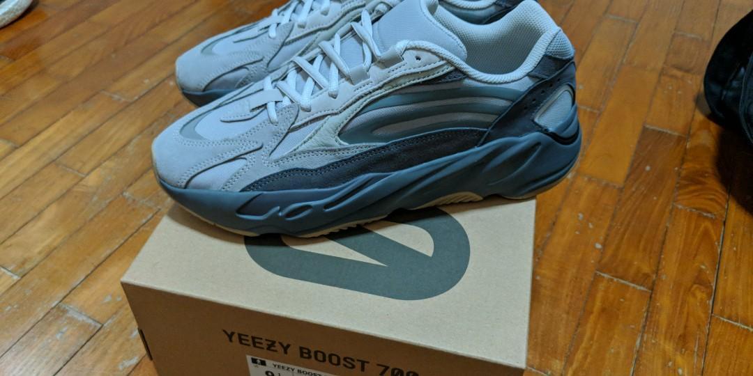 adidas Yeezy Boost 700 Wave Runner Solid Grey (Kids) FU9005