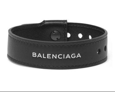 BALENCIAGA Leather Bracelet手帶 pre order #mtrssp
