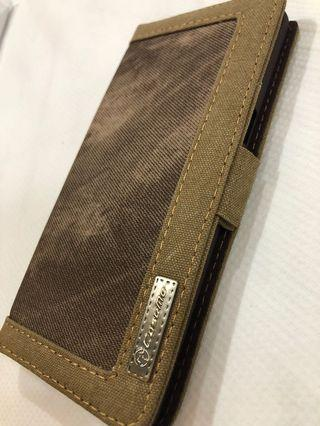 🚚 Samsung Note 8 Brown case holder with card slots