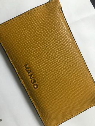 Mango card holder with zip