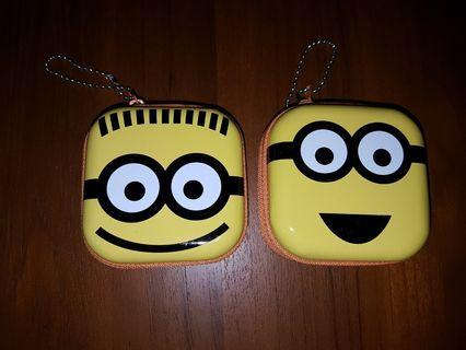 Minions Zippered Metal Container