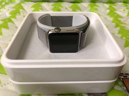 🚚 Apple Watch edtion 第一代( 38)米蘭不銹鋼