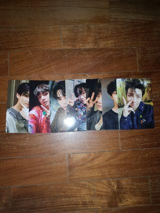 BTS Army Bomb V3 official photocards