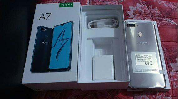 FOR SALE OPPO A7 4GB RAM BRANDNEW NO ISSUE TEXT FOR MORE DITELLS