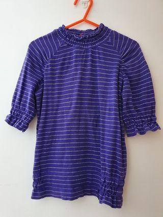 🚚 Purple top