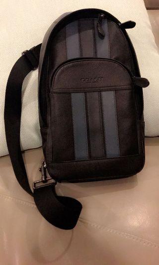 [ORIGINAL] Coach men backpack genuine leather