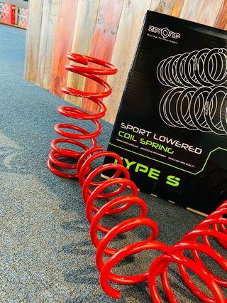 ZerOne Type S Sport Spring for Axia