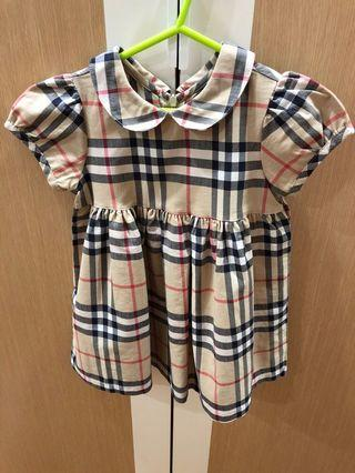 Burberry dress for 2 year old